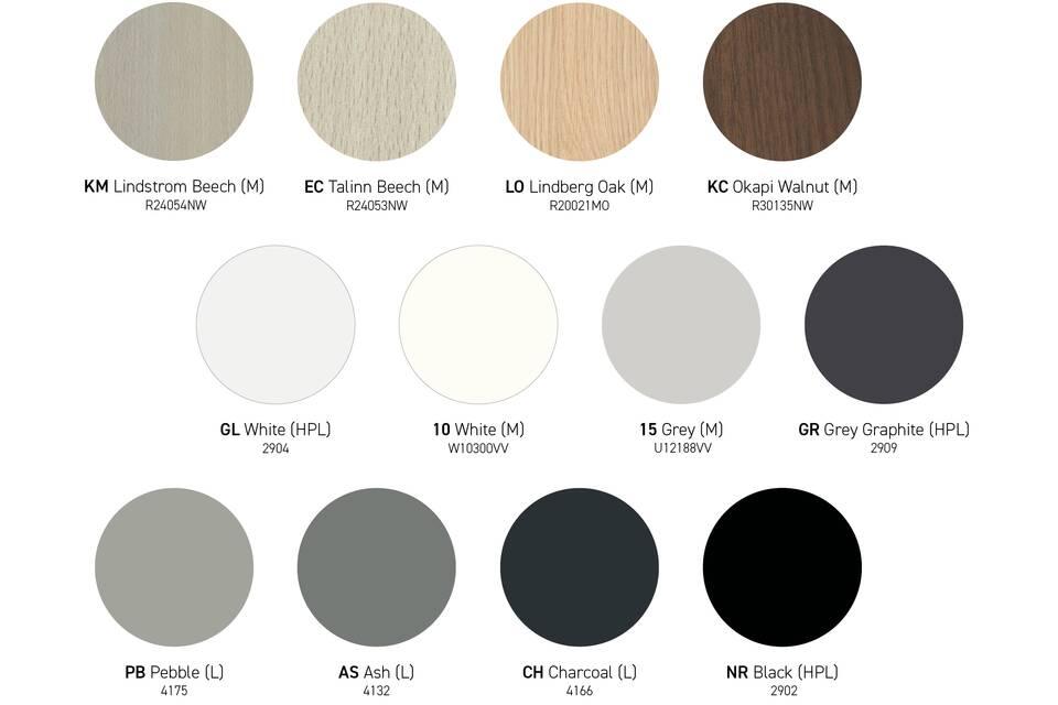 EN Ahrend tabletop_colours